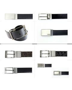 Calvin Klein men's leather belts assortment 18pcs.