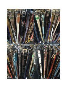 Ladies jeans belts assortment 50pcs.