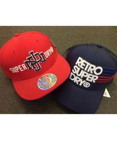 Super Dry hats assortment 36pcs.