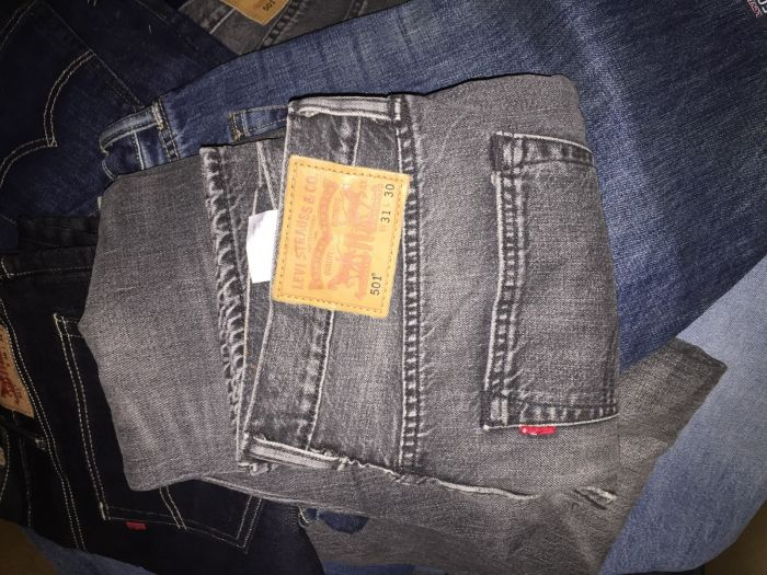 701c9b9d Skip to the beginning of the images gallery. Details. Levis IRREGULAR jeans  ...