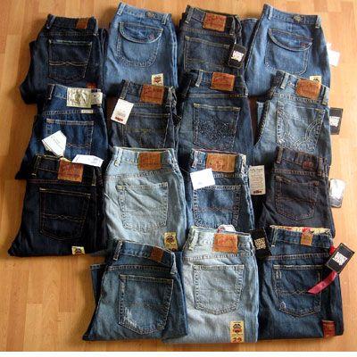 1aaa2062ede34 Lucky Brand Wholesale Denim Jeans Ladies Assortment 30pcs.