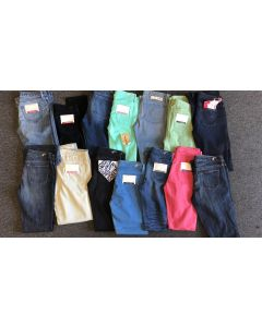 Earnest Sewn ladies denim jean assortment 30pcs.
