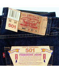Levis Men's 501 1st Quality Jeans assortment 30pcs