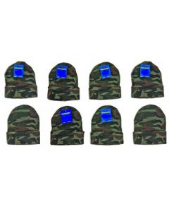 Adult Camo Knit Hats - Assorted Colors 120pcs.