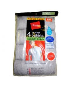 Hanes Men's pocket t-shirt 24units