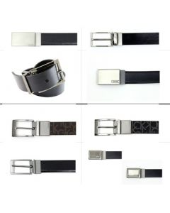 Calvin Klein men's leather belts assortment 18pcs.