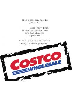 Costco Wholesale M/W/C apparel loads by the pallet 500pcs.