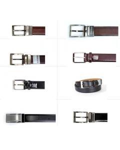 Geoffrey Beene men's leather belts assortment 12pcs.