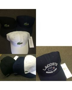 Lacoste men's Hats assortment 18pcs.