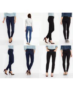 Levis wholesale missy 26-34 jeans assortment 24pcs.