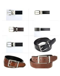 Nautica men's leather belts assortment 12pcs.
