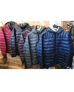 Tommy Hilfiger men's packable jacket 24pcs.