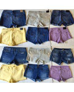 True Religion ladies Denim Shorts Assortment 30pcs.