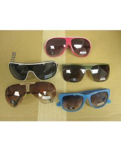 Private Label Fashion mixed sunglasses UVA & UVB New 100pcs.