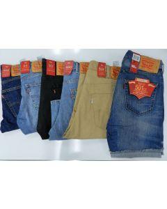 Levis Wholesale Mens denim shorts assortment 24pcs.