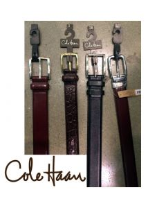 Cole Haan men's leather belts assortment 12pcs.