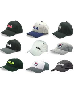 Fila wholesale mens hats assortment 48pcs.