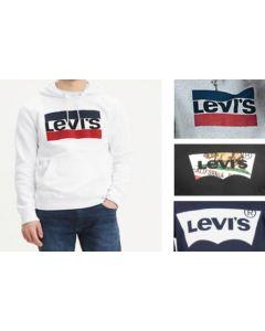 Levis printed hood sweatshirts 24pcs.