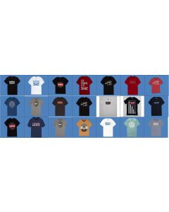 Levis Boys short sleeve printed tees assortment 48pcs.