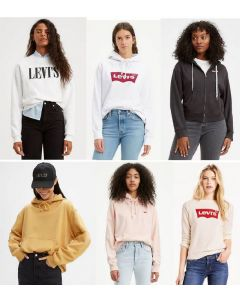 Levi wholesale ladies hoodies assortment 36pcs.