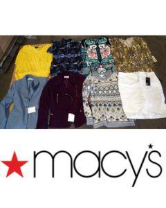 MACY'S wholesale pallet women's overstock lot 50pcs.