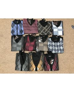 Men's wholesale sweaters assortment 48pcs.