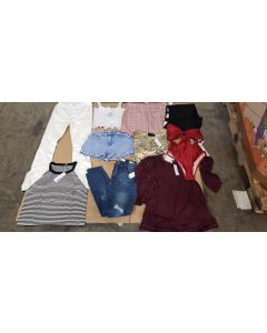 Pacsun wholesale mixed apparel pallets 500pcs