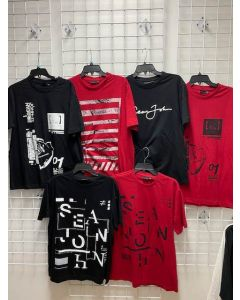 Sean John Wholesale men's s/s T-shirt assortment 48pcs.