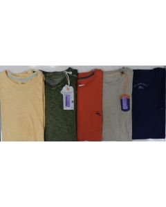Tommy Bahama Wholesale Men's short sleeve solid tees 50pcs.