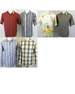 Tommy Bahama Men's l/s button front shirts 24pcs.