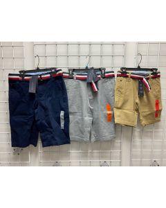 Tommy Hilfiger Wholesale Boys 8-20 belted shorts 48pcs.